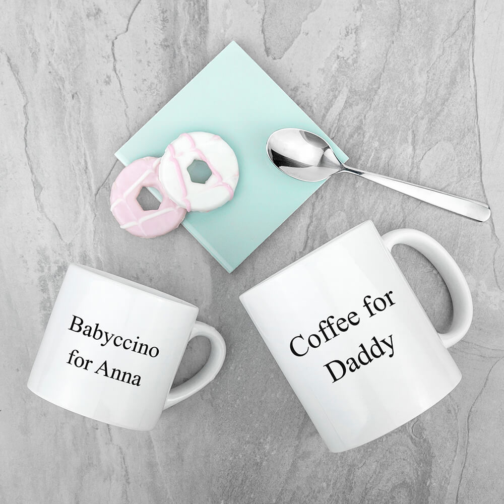 Personalised Daddy & Me Together Forever Mugs