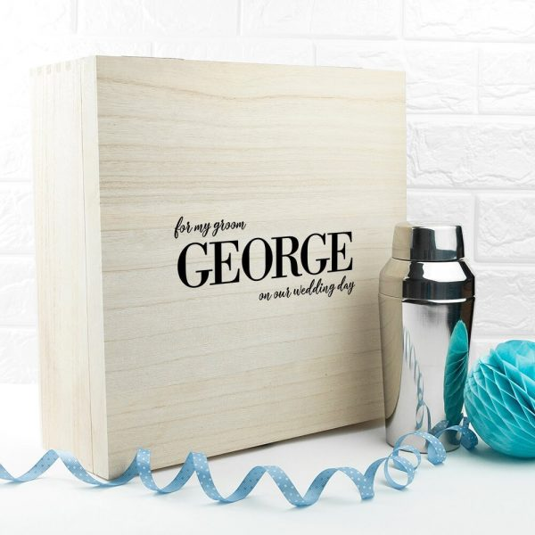 Personalised Gift Box – For My Groom