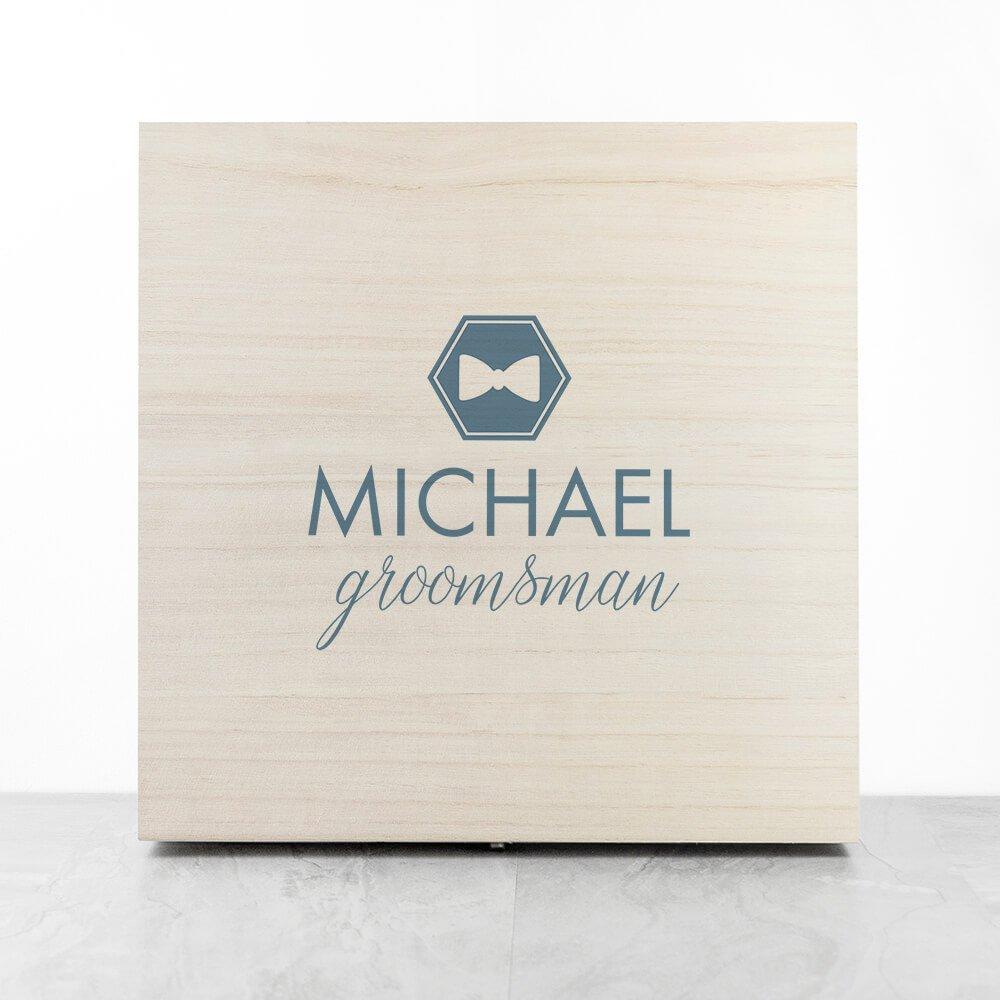 Personalised Gift Box – Groomsman