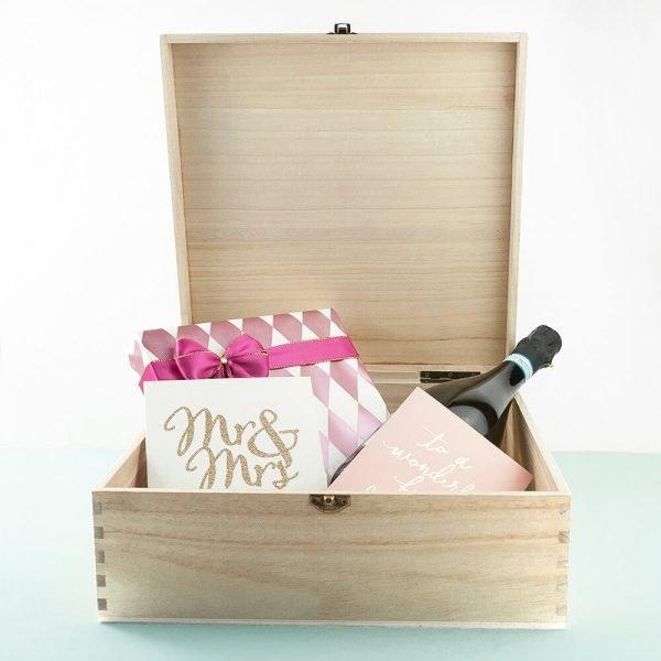 Personalised Gift Box – Elegant Wedding Box