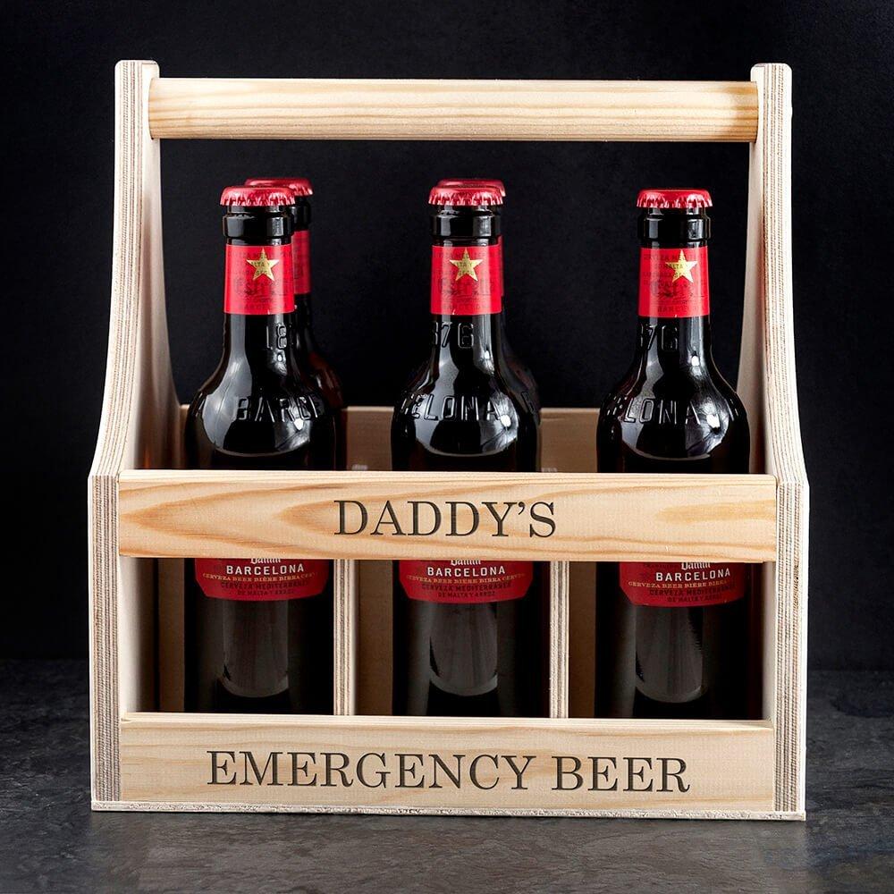 Personalised Garden Beer Trug – Your Message