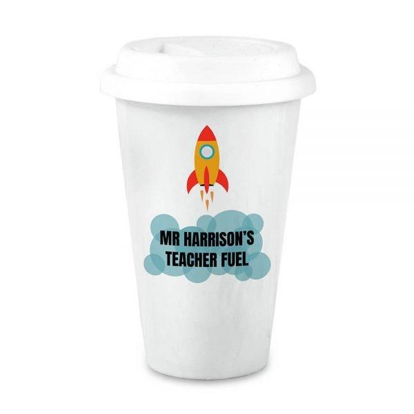 Personalised Teacher's Fuel Travel Mug