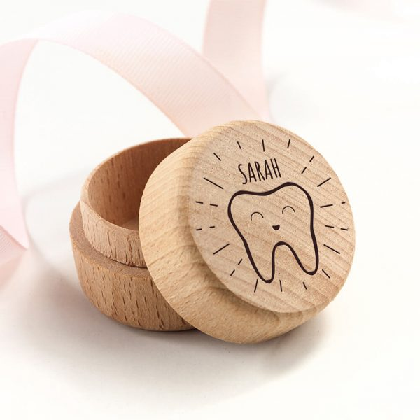 Personalised Happy Smiles Tooth Fairy Box