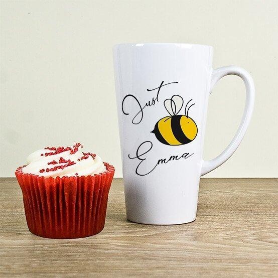 Personalised Bee You Latte Mug