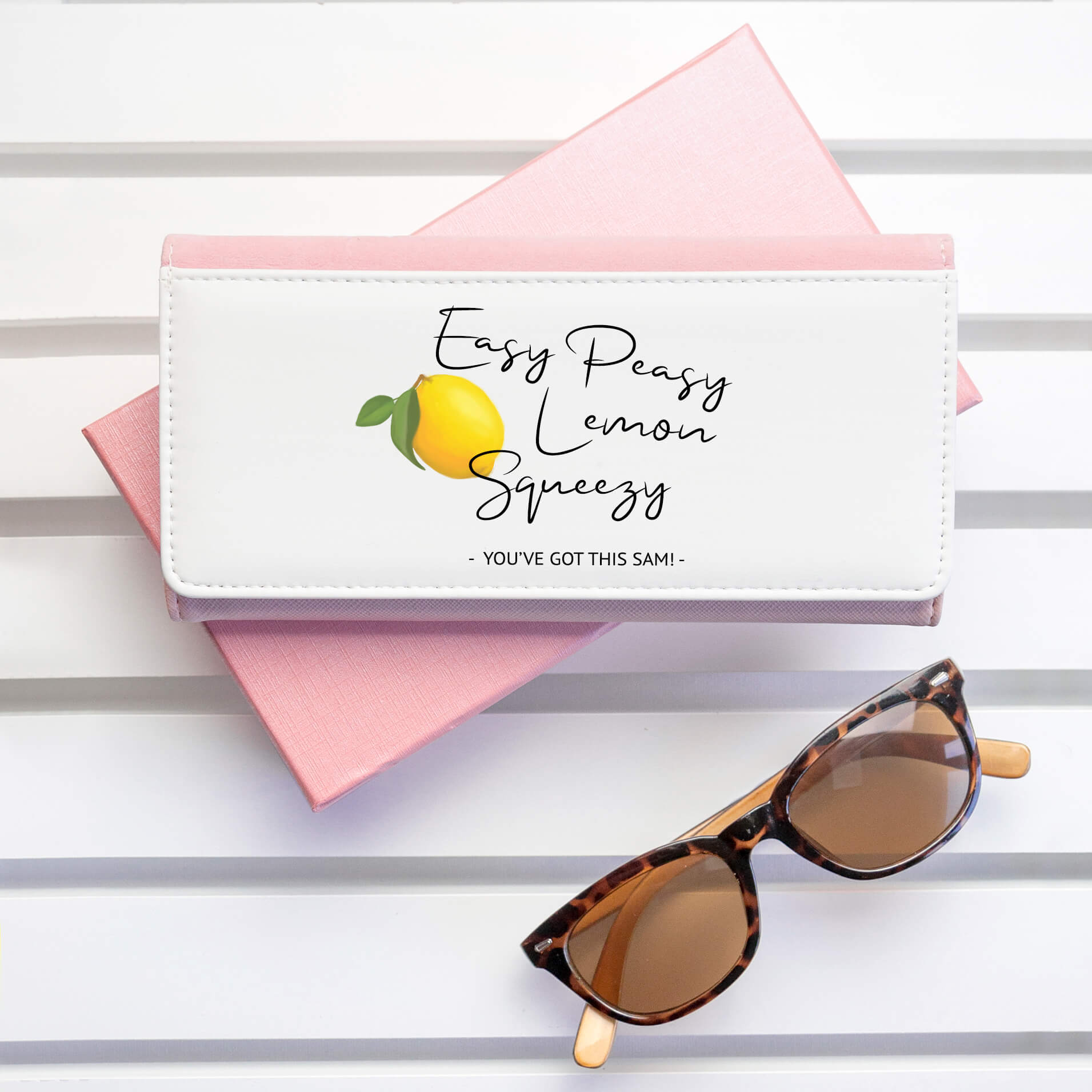 Personalised Wallet – Easy Peezy Lemon Squeezy