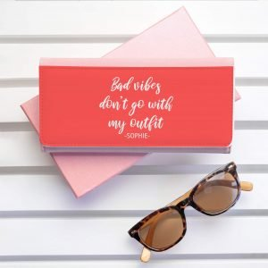 Personalised Wallet – No Bad Vibes