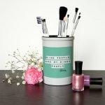 Personalised Make Up Brush Holder – Kind People