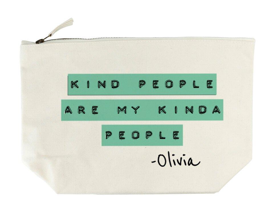 Personalised Wash Bag – Kind People