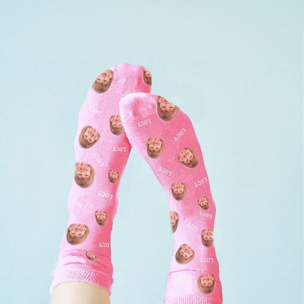 Personalised Photo Socks – Upload Your Photo