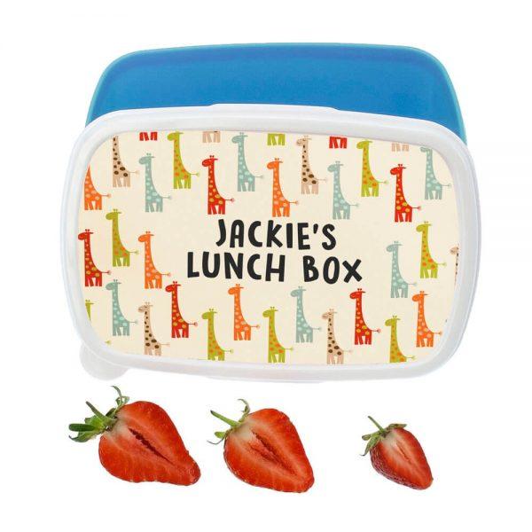 Personalised Lunch Box – Giraffe