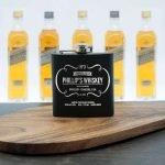 Personalised Hip Flask – Whisky Vintage
