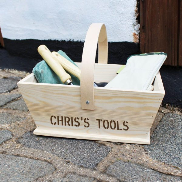 Personalised Gardeners Trug – Add Your Name