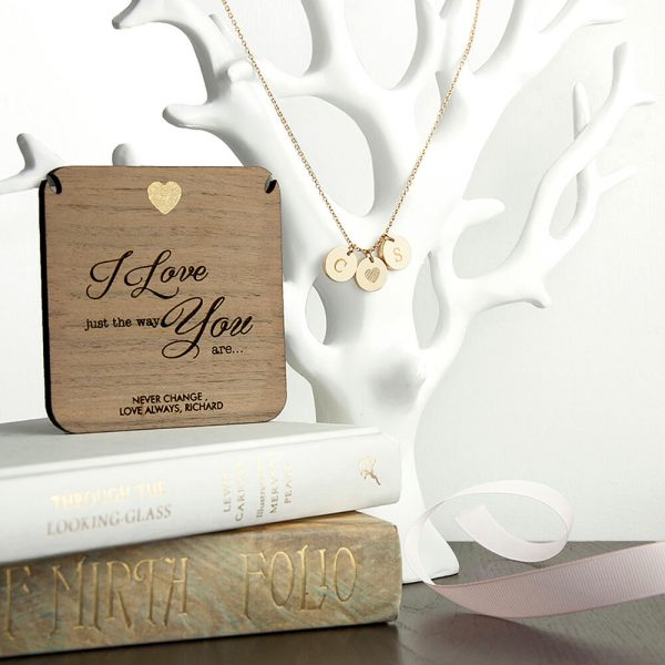 Personalised Necklace & Keepsake – Just the Way You Are