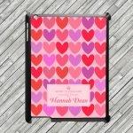 Personalised Tablet & Ipad Case – Love Heart