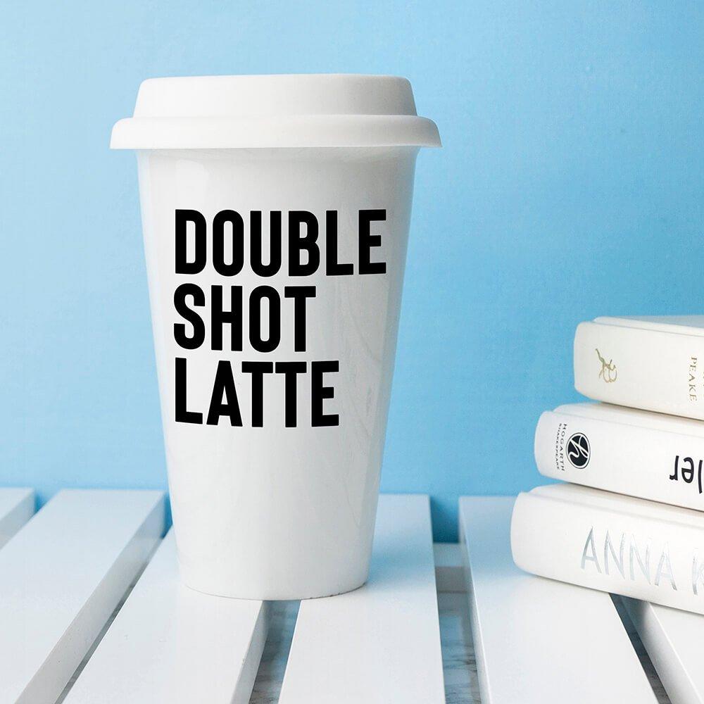Personalised 'My order' Ceramic Travel Mug