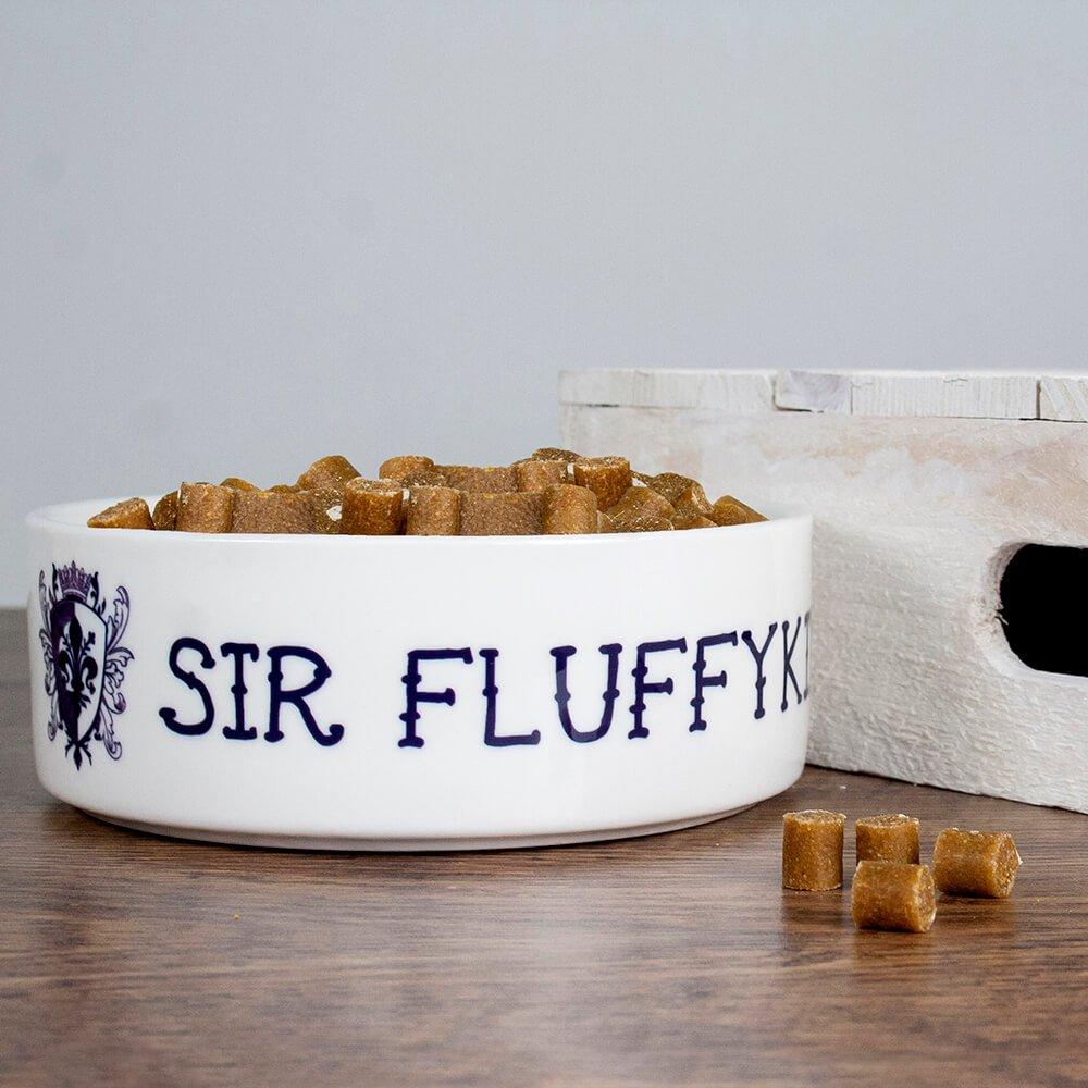 Personalised Cat Bowl – Sir Cat