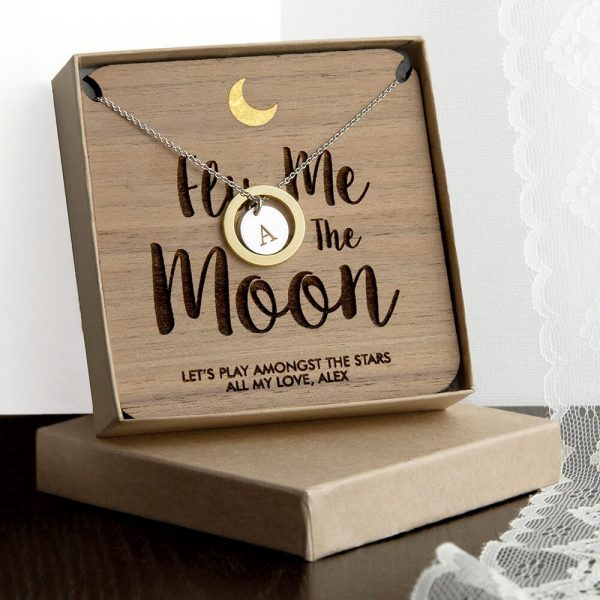 Personalised Necklace & Keepsake – To the Moon & Back
