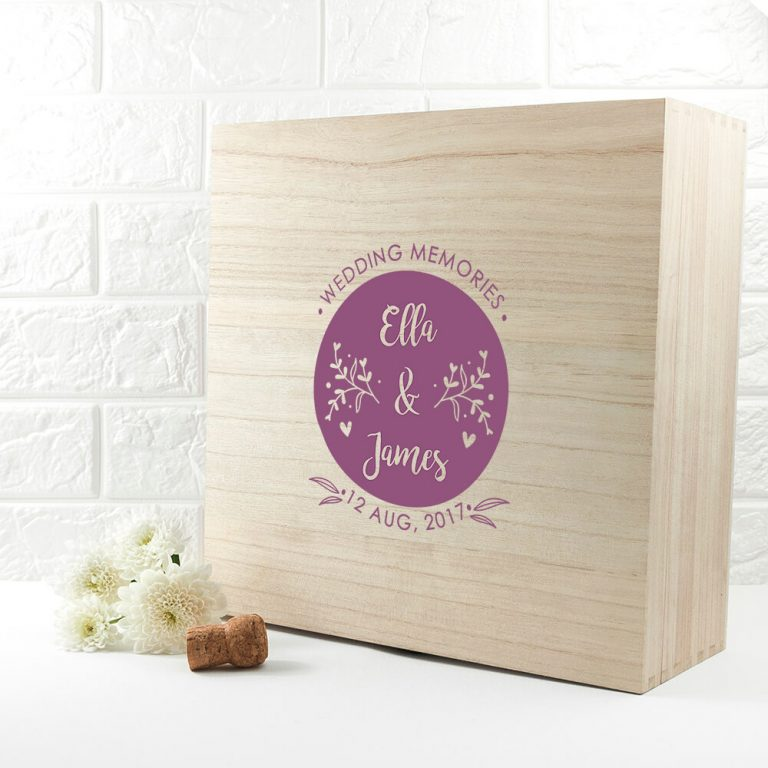 Personalised Gift Box – Wedding Memories