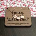 Personalised Necklace & Keepsake – Valentine