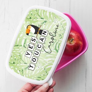 Personalised Lunch Box – Yes Toucan