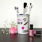 Personalised Make Up Brush Holder – Came, Saw, Contoured