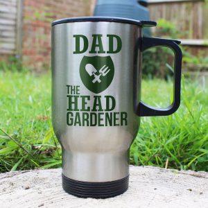 Personalised The Head Gardener's Mug