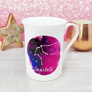 Personalised Watercolour Star Constellation Mug