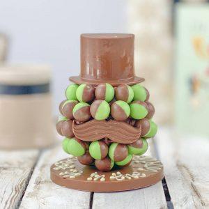Personalised Mint Aero Chocolate Head