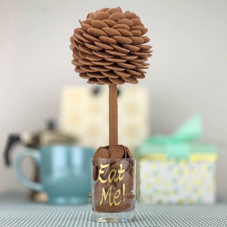 Personalised Buttons Funky Sweet Tree 25cm