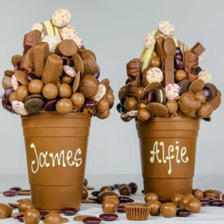 Personalised 1KG Belgian Chocolate Smash Cup
