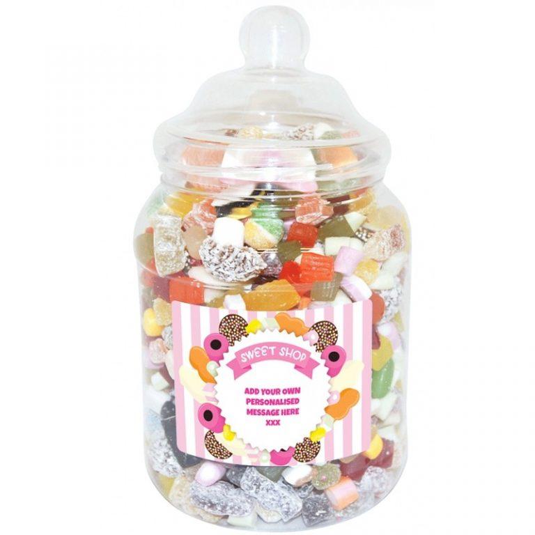 Personalised Victorian Sweet Jar