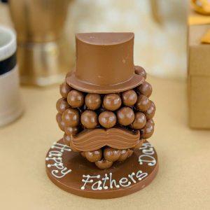 Personalised Malteser Chocolate Head