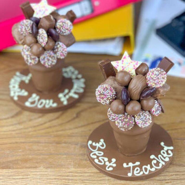 Personalised Mini Belgian Chocolate Smash Cup