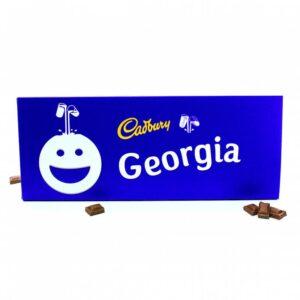 Personalised Giant Cadbury Dairy Milk Bar – 850g