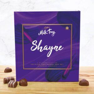 Personalised Cadbury's Milk Tray – 350g