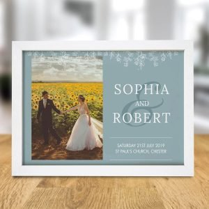 Personalised Photo Upload A4 Framed Print