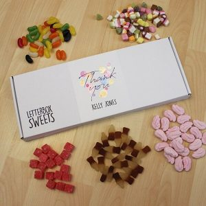 Personalised Letterbox Sweets  – Thank You