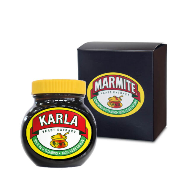 Personalised Marmite – Classic Jar with Gift Box