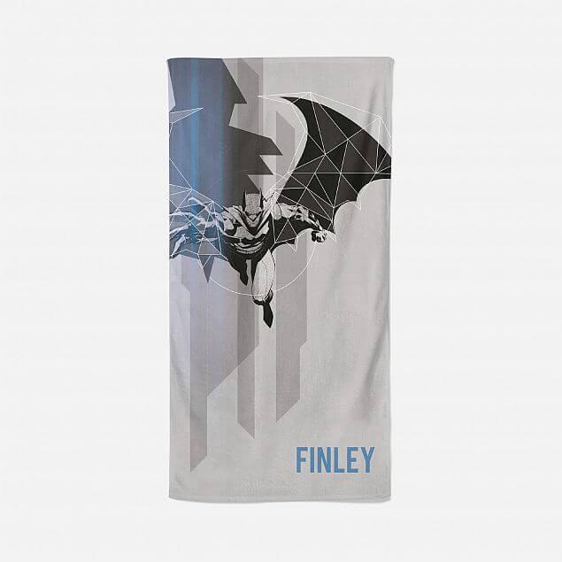 Personalised Batman Dark Matter Beach Towel