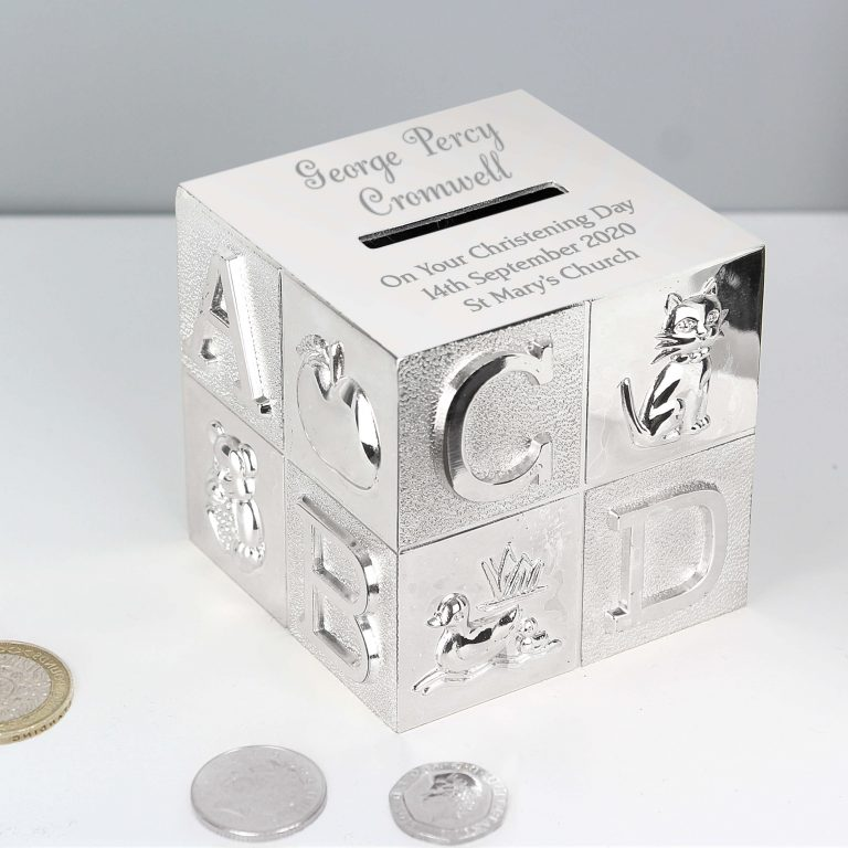 Personalised Big Name ABC Money Box
