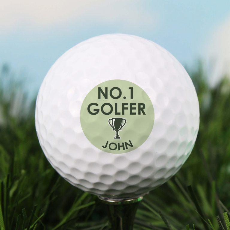 Personalised Golf Ball – Golfer