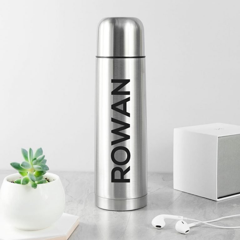 Personalised Stainless Steel Thermos