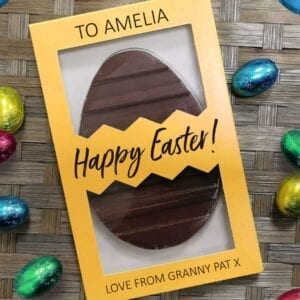 Personalised Letterbox Easter Egg – Free Text