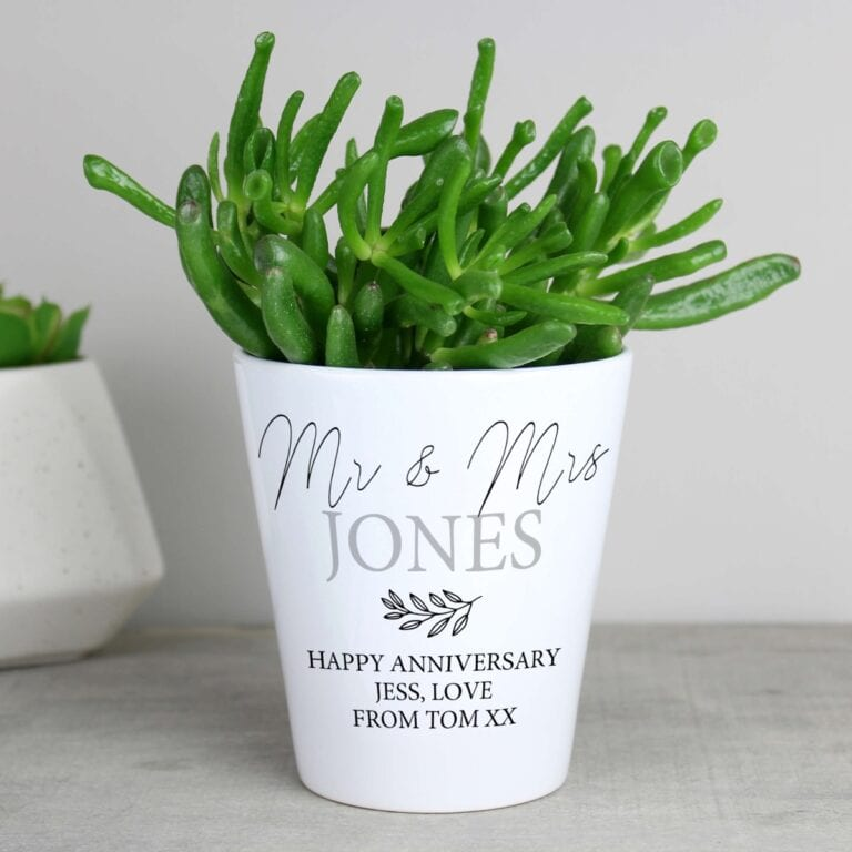 Personalised Any Message Plant Pot