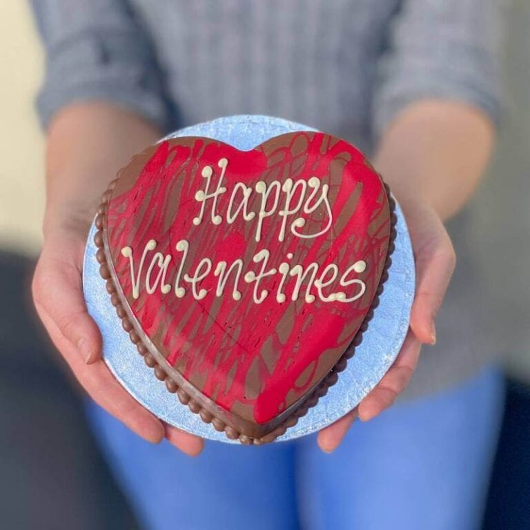 Personalised Red Chocolate Smash Heart