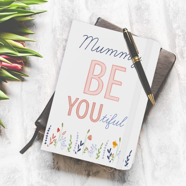 Personalised Be-you-tiful Notebook