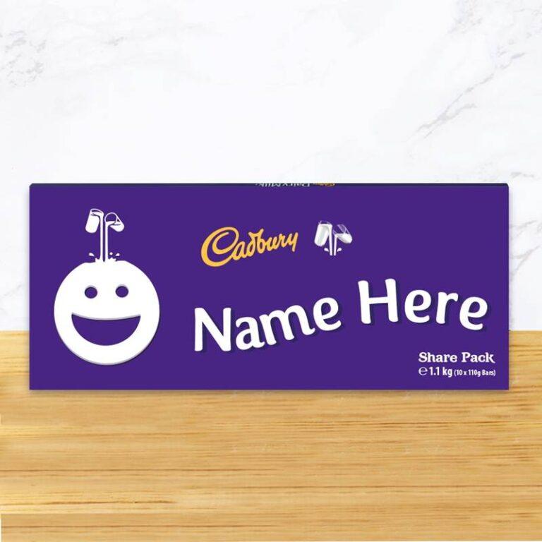 Personalised Cadbury Dairy Milk 1.1KG