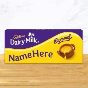 Personalised Cadbury Dairy Milk Caramel 1.2kg