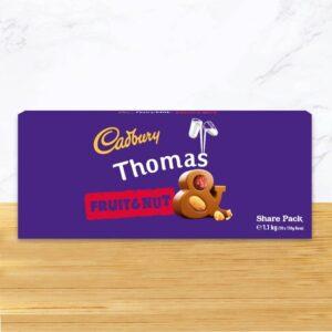 Personalised Cadbury Fruit & Nut 1.1kg