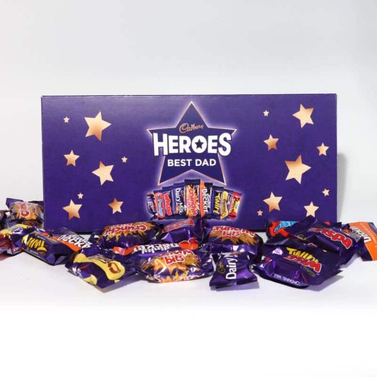Personalised Cadbury Heroes Small Letterbox Gift 290g